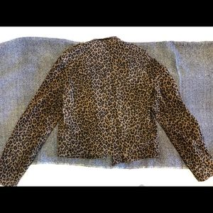 8b62bef77405 All Saints Jackets & Coats | Allsaints Leopard Harnett Jacket | Poshmark
